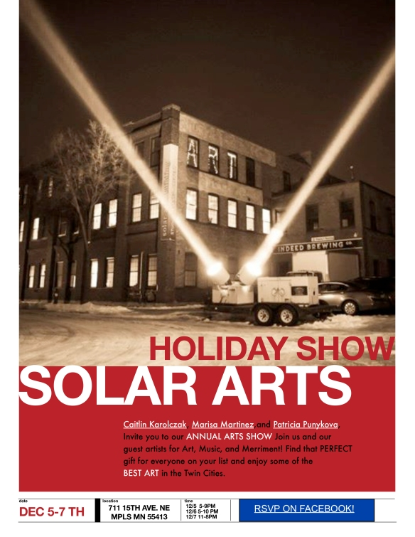Solar Arts Holiday Show